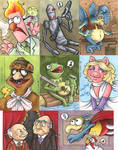 muppet and Star Wars cards