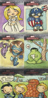 marvel masterpieces proof card by katiecandraw