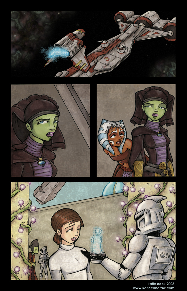 Clone Wars Comic 'Transfer'4 by katiecandraw