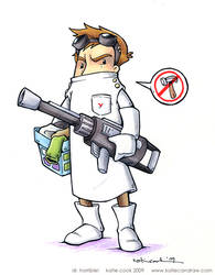 dr. horrible by katiecandraw