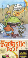fantastic four 1st cover by katiecandraw
