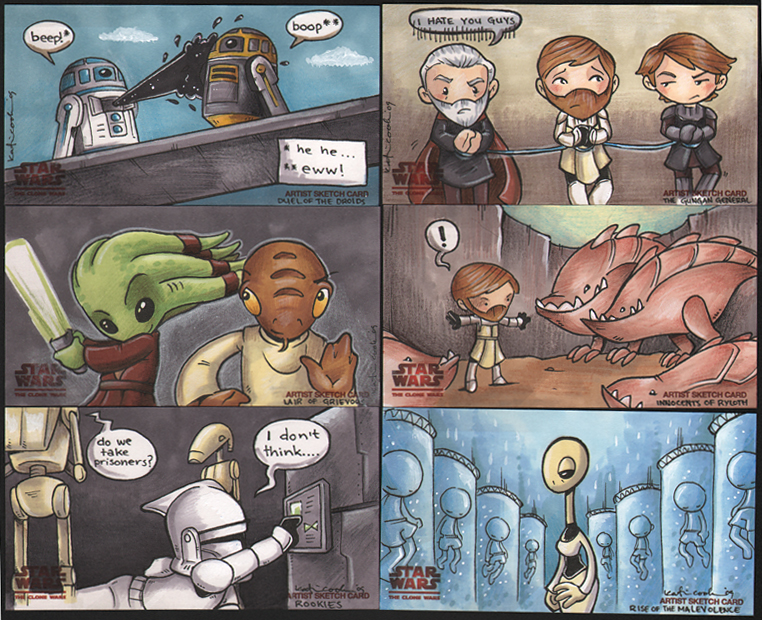 star wars clone wars 2 by katiecandraw