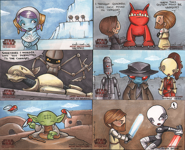 star wars clone wars 3 by katiecandraw