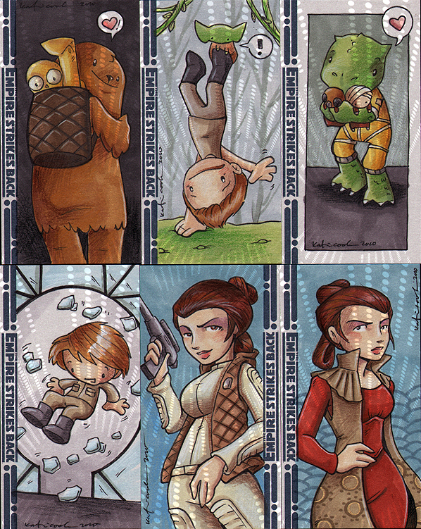 ESB sketch cards 3 by katiecandraw