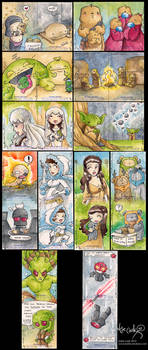 star wars galactic files cards by katiecandraw