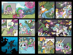My Little Pony FiM Comic 2 page story from issue 4
