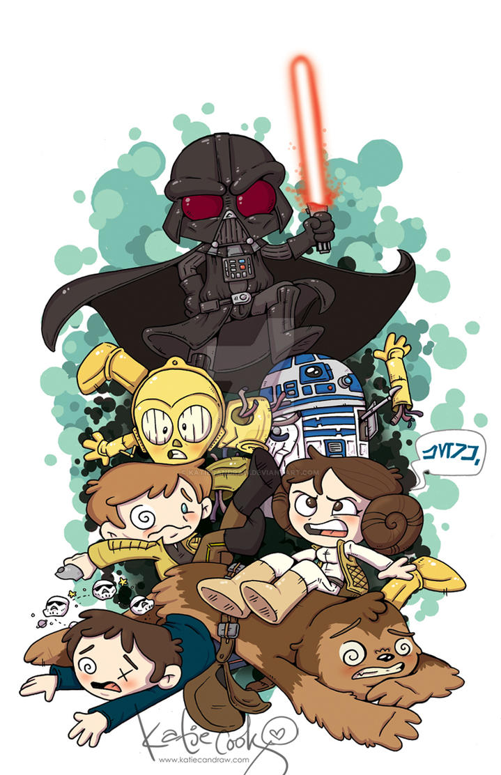 Star Wars Darth Vader 15 cover by katiecandraw