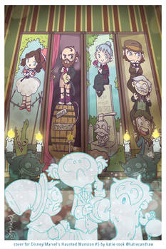 Haunted Mansion comic cover
