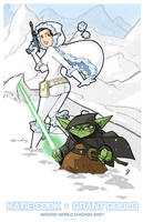 WWChicago Gould-Cook Print by katiecandraw