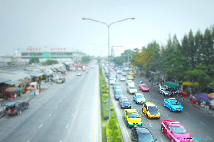 Bangkok Streets by munchinees