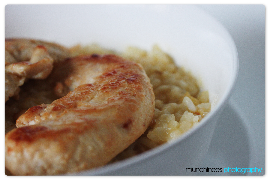 Sai's Creamy Baked Rice 3 by munchinees
