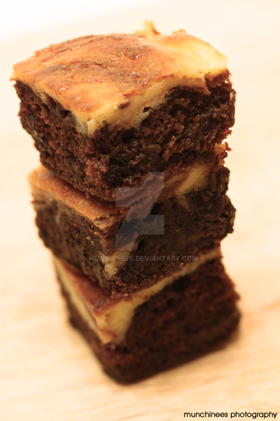 Cheesecake Brownie by munchinees