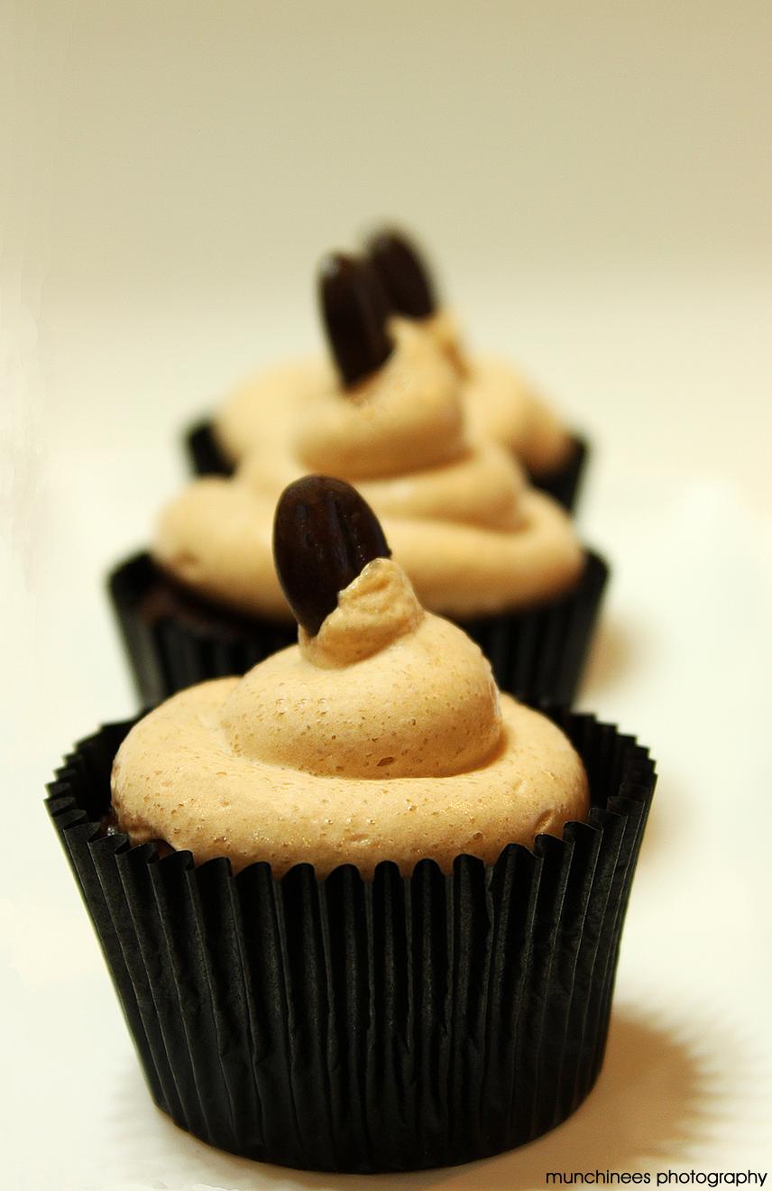 Mocha Cupcakes by munchinees