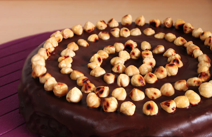 Nutella Cake by munchinees
