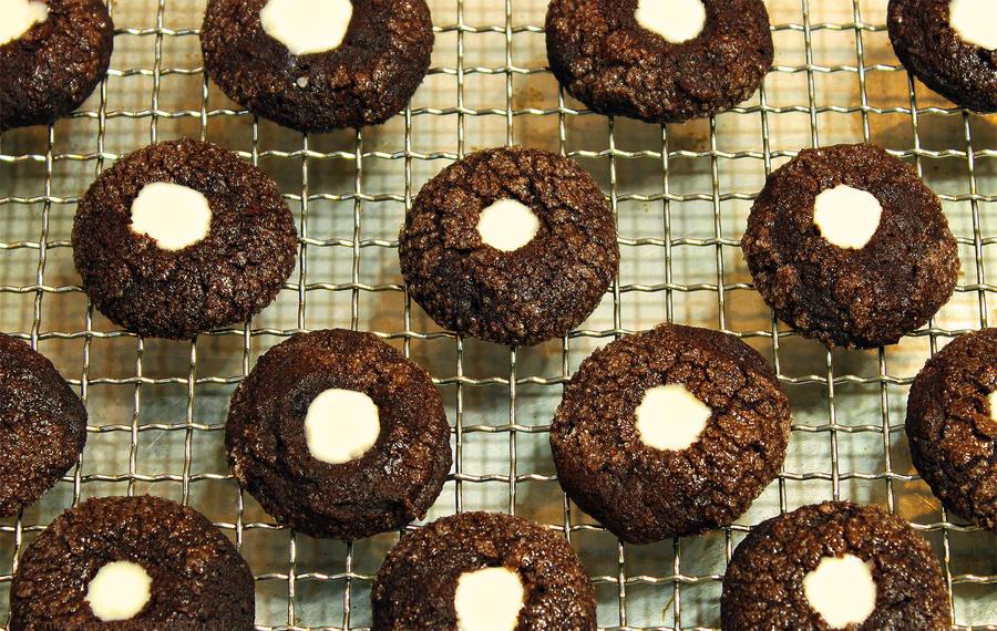 Chocolate Mint Thumbprints 2 by munchinees on deviantART