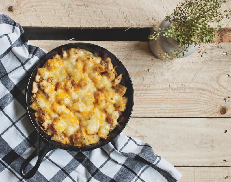 Chicken and potatoes au gratin by munchinees