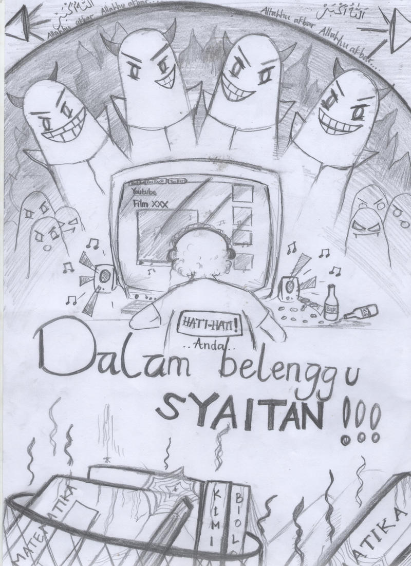 Sketsa Poster by AndroIndo on DeviantArt