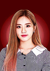 Jiwon Painting (No Watermark) by r4veofficial
