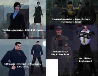 Elite Villains by vigilantebt