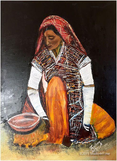 Tara, A traditional Rajhistani Lady by studio441me