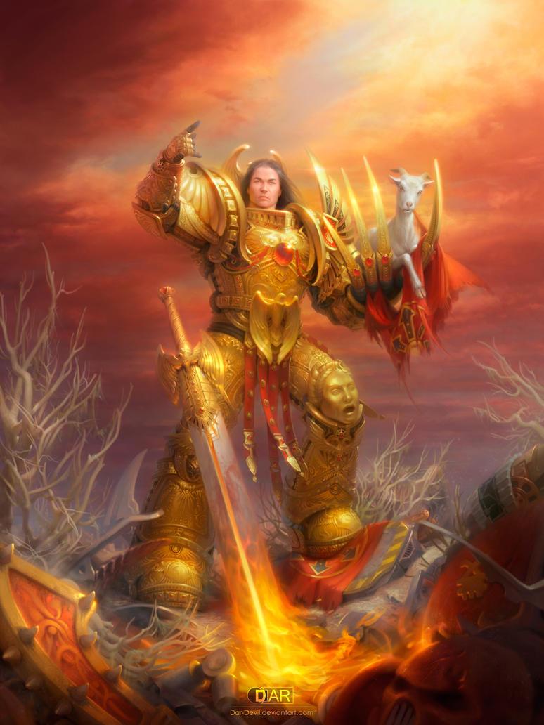 warhammer the emperor s goat by dar devil on deviantart