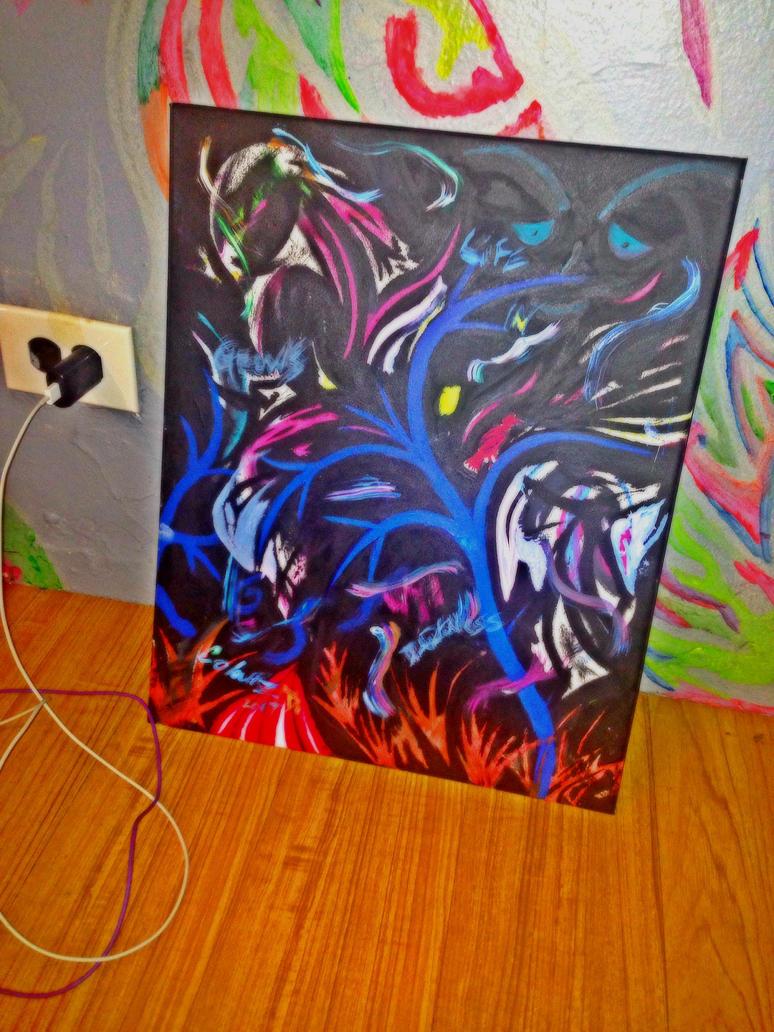life n darkness by colourzdinero