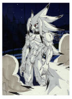 Shiro - Commission - Hyperking by michaelmas
