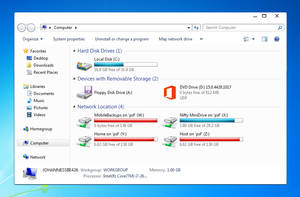 Windows 7 Visual Style (Work in Progress) by Joppu