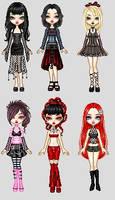Goth Disney Princesses