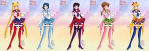 Inner Sailor Fuku Redesign