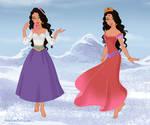 Esmeralda Snow Queen