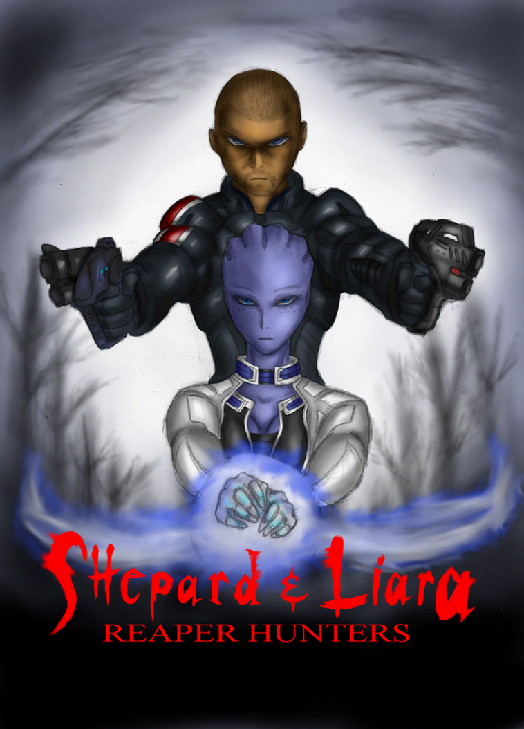 shepard and liara  hansel and gretel 2013 style  by lel0uch on deviantart