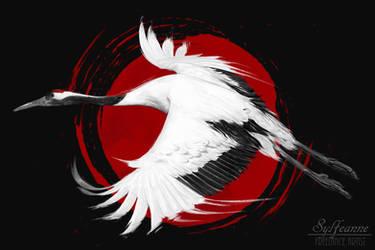 Japanese Bird by Sylfeanne