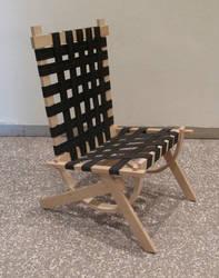 J-Curve Chair quarter-view by Trollesque