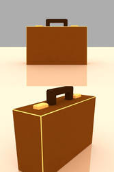 Briefcase material render by FallenMystic