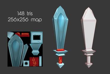 TerryTanke Sword by FallenMystic