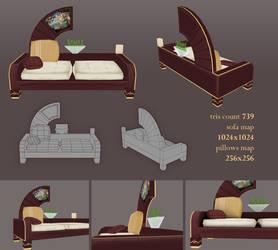Venus sofa by FallenMystic