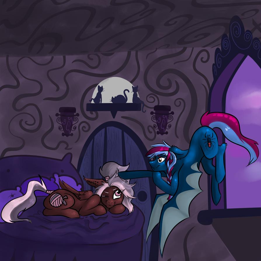 late night boop by Pegabella