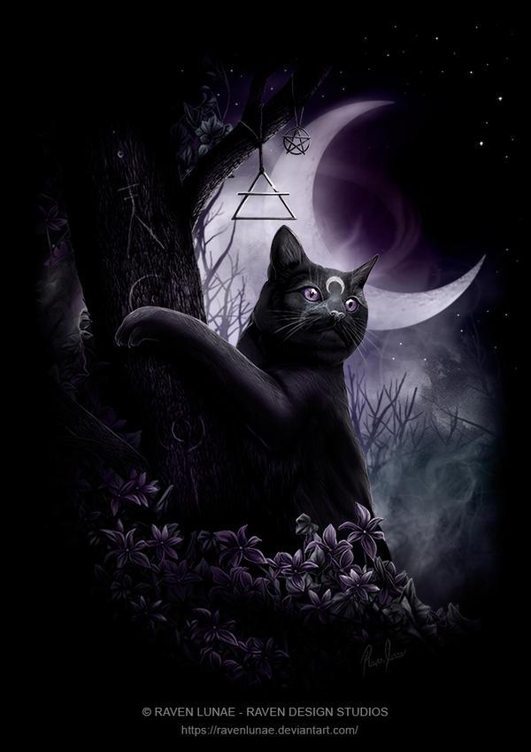 Lunar Magick by RavenLunae