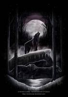Wolf Hunt by RavenLunae