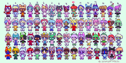 64 Adopts - 90 points each | OPEN 33/64