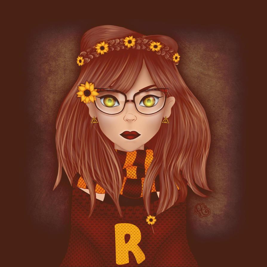 Hipster Hermione by NikiKratz