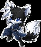 Chibi cosplay:Blacky-Roy
