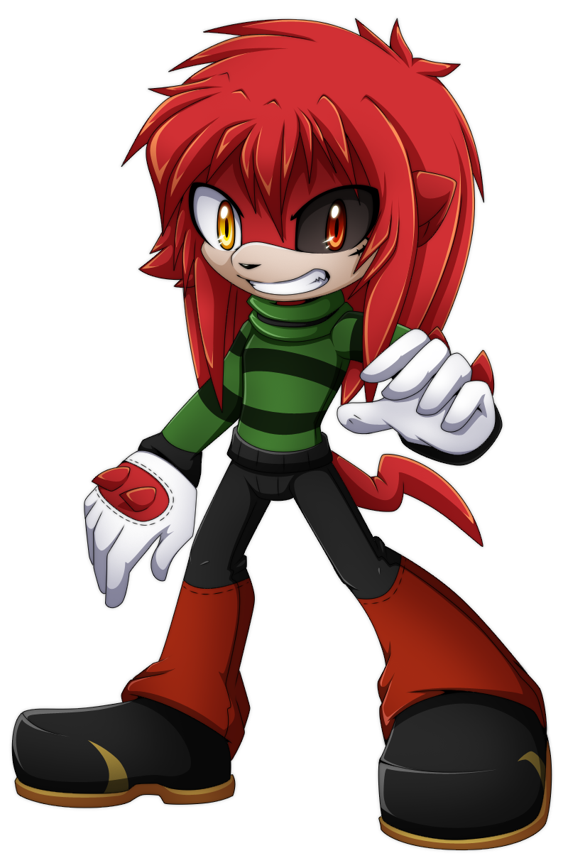 Design commission:Traffic the echidna by Extra-Fenix