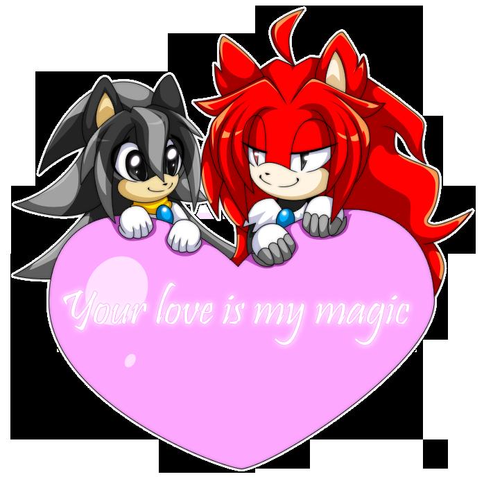 Valentine for Shadatanish-Divine by Extra-Fenix