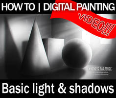 Basic Light and Shadows Tutorial |Digital Painting by just-caro