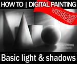 Basic Light and Shadows Tutorial  Digital Painting