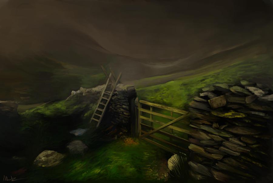 Speedpainting landscape by imorawetz