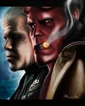 Clay+Hellboy