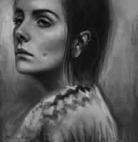 March self portrait by imorawetz